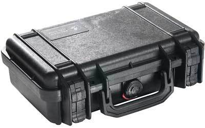 PELICAN CASE 1170 CUSTOM HANDGUN BLACK
